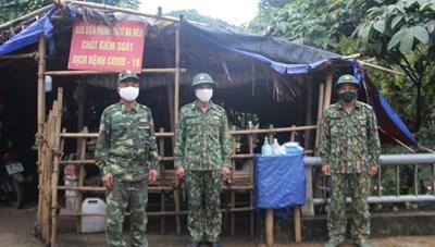 'Lá chắn thép' chống dịch ở miền Tây xứ Thanh