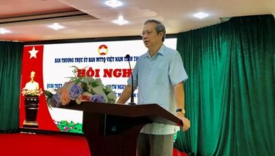 Thanh Hoá: Phổ biến Nghị quyết số 58 tới những người làm công tác Mặt trận