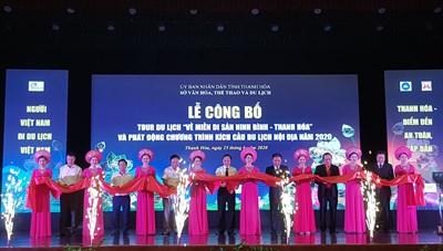 Thanh Hóa: Công bố tour di lịch 'Về miền di sản Ninh Bình – Thanh Hóa'