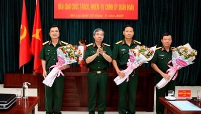 Đại tá Nguyễn Văn Thế được bổ nhiệm Chính ủy Quân đoàn 3