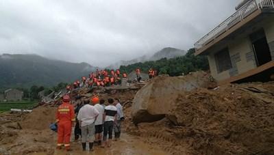 Trung Quốc: Lở đất ở Hồ Bắc chôn vùi 9 người