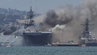 Chiến hạm tỷ đô Mỹ nguy cơ thành sắt vụn