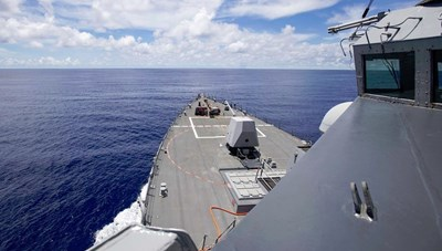 Tàu chiến Mỹ áp sát Trường Sa ngay sau tuyên bố về Biển Đông
