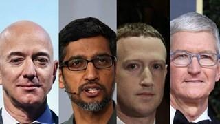 Bốn 'đại gia' công nghệ Mỹ điều trần về hành vi độc quyền