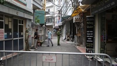 Hà Nội chưa phong tỏa khu dân cư có ca mắc Covid-19 tại phường Mễ Trì