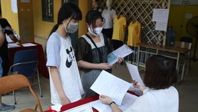 Hà Nội: Khuyến khích xác nhận nhập học trực tuyến