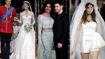 Thời trang cưới đã thay đổi thế nào qua 100 năm