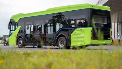 Băn khoăn xe bus điện
