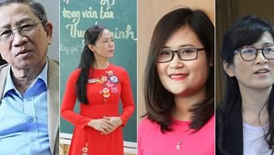 Đổi mới giáo dục: Bắt đầu từ người thầy