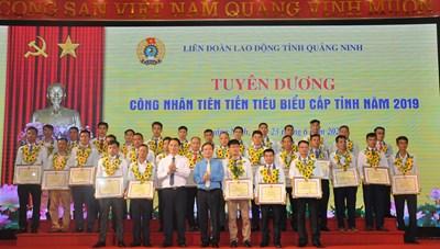 Quảng Ninh: Tuyên dương người lao động tiên tiến