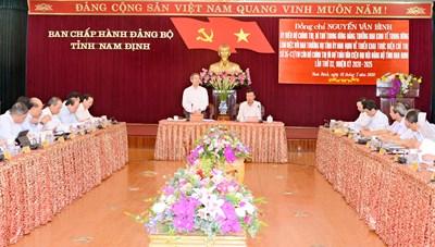 Nam Định cần khôi phục vị thế trung tâm lớn về công nghiệp dệt may