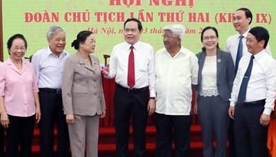 BẢN TIN MẶT TRẬN: Hội nghị Đoàn Chủ tịch UBTƯ MTTQ Việt Nam lần thứ hai, khóa IX
