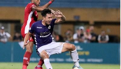 Khắc Ngọc mắc sai lầm, Viettel và Hà Nội chia điểm trong trận derby Thủ đô