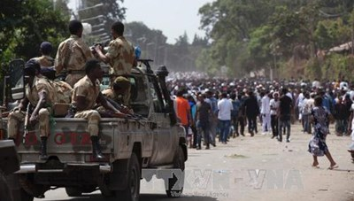 Ca sỹ bị giết hại, bạo loạn trùm Ethiopia
