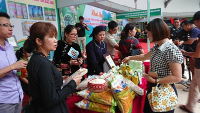 Tuần lễ nông sản sạch Bắc Kạn tại Hà Nội