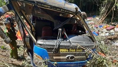Vụ tai nạn kinh hoàng tại Kon Tum: Một phụ xe dương tính với ma túy