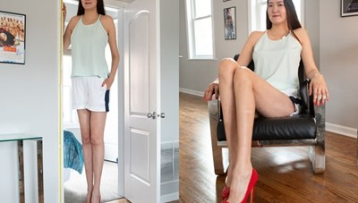 Người đẹp có đôi chân dài tới 1,34 m