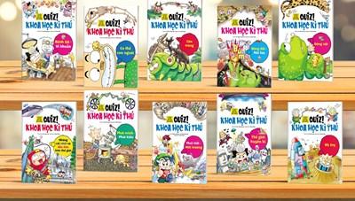 Bộ sách khoa học kì thú dành cho trẻ em
