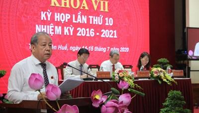 Thừa Thiên - Huế: Ưu tiên kiểm soát dịch Covid-19, phấn đấu tăng trưởng kinh tế
