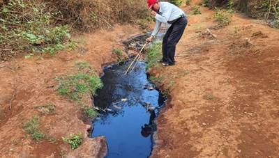 Trạm xử lý nước thải hàng chục tỷ đồng bỏ hoang