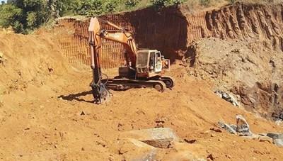 Hàng loạt sai phạm trong khai thác khoáng sản: Môi trường bị tàn phá