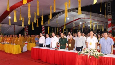 BẢN TIN MẶT TRẬN: Chủ tịch Trần Thanh Mẫn dự Đại lễ cầu siêu