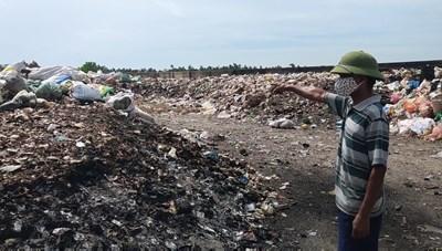 Khốn khổ vì bãi rác