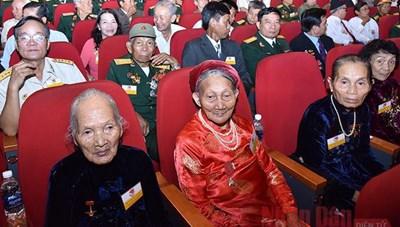 Tri ân Bà mẹ Việt Nam anh hùng toàn quốc