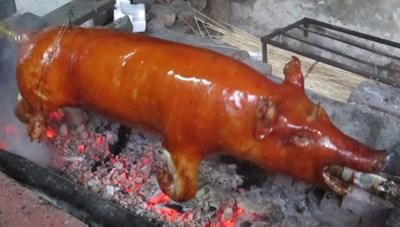 Lợn quay ở Lạng Sơn
