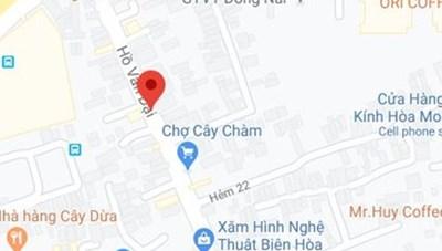Thành phố Biên Hòa phong tỏa đường Hồ Văn Đại liên quan BN595