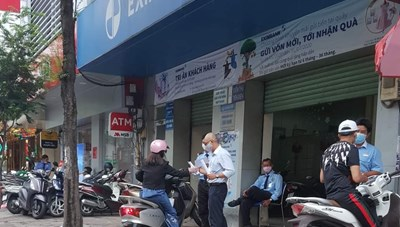 TP HCM: Liên quan bệnh nhân Covid-19, tạm dừng hoạt động một chi nhánh Eximbank
