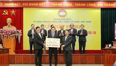 Tập đoàn Hưng Thịnh trích 20 tỷ đồng ủng hộ phòng, chống dịch