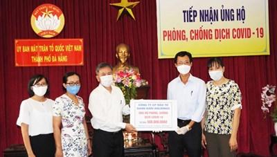 BẢN TIN MẶT TRẬN: Sở TT&TT Đà Nẵng trao 500 triệu đồng ủng hộ phòng, chống dịch