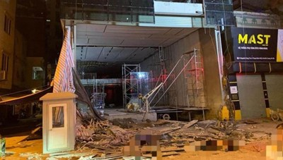 Hà Nội: Khởi tố vụ án sập giàn cẩu khiến 4 người tử nạn