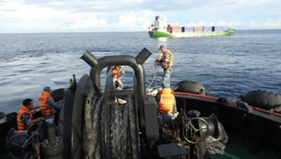 Khánh Hòa: Cứu hộ thành công tàu Mông Cổ gặp nạn