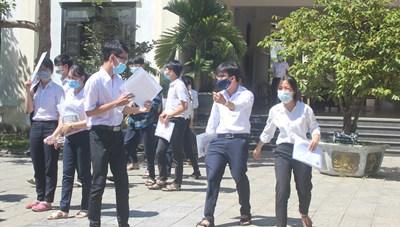 Quảng Nam: Hơn 240 thí sinh vắng thi môn Ngữ văn