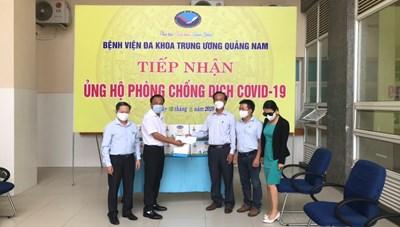 Quảng Nam: Trưởng Tiểu ban điều trị Covid-19 thăm đoàn công tác tăng cường