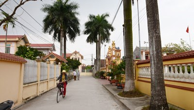 Bắc Giang: Xây dựng nông thôn mới kiểu mẫu