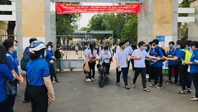 Bình Định: Kết thúc kỳ thi THPT quốc gia năm 2020