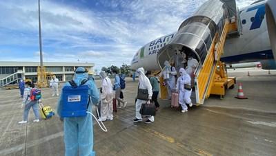 Hơn 260 công dân Việt Nam ở UAE về nước