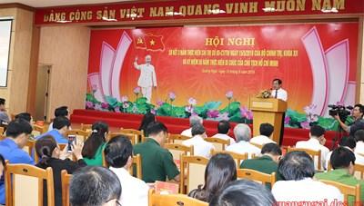 Kỷ luật nhiều cán bộ lãnh đạo chủ chốt tỉnh Quảng Ngãi