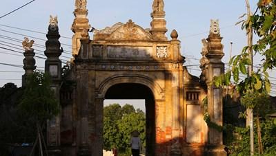 [ẢNH] Phát hiện thêm một cổ trấn đẹp bình dị cách Hà Nội 30 km