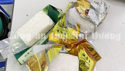 Hải Dương: Bắt vụ vận chuyển  hơn 3 kg ma túy tổng hợp