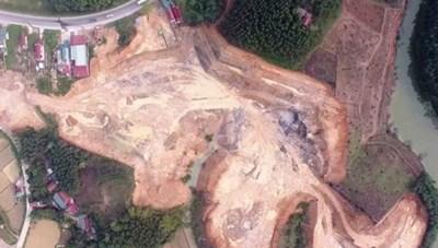 Vụ khai thác đất trái phép ở Lạng Sơn: Sai phạm nghiêm trọng, xử lý nhẹ hều