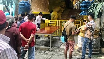 Vụ chùa Kỳ Quang 2: Nhiều người dân muốn thuỷ táng tro cốt thất lạc
