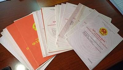 VP Đăng ký đất đai quận Sơn Trà nhận lại 19 sổ đỏ bị 'cho mượn'