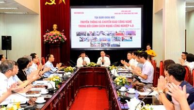 Truyền thông thúc đẩy chuyển giao công nghệ