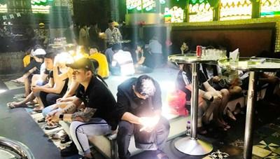 Tiền Giang: Phát hiện 102 người dương tính ma túy trong quán bar