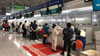 220 công dân Việt Nam từ Nhật Bản về nước nhập cảnh Đà Nẵng