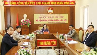 Văn Giang (Hưng Yên): Tổ chức Hội thi 'Trưởng ban Công tác Mặt trận giỏi'